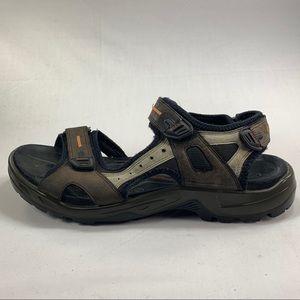 Ecco Yucatán Strapped Hiking Sandals Mens Sz 11